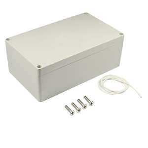 Fielect Abs Plastic Project Box Waterproof Ip65 Junction Box Electronic Project