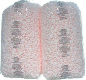 Sellers Choice Packing Peanuts 14 Cf Lot 4 X 3 5 Cu Ft Bags Pink Anti Static