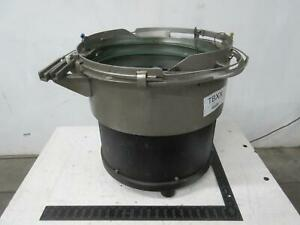 Vibratory Bowl Feeder 18 In T111552
