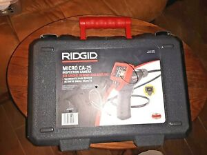 Case Only For Ridgid Ca 25 40043 Micro Handheld Inspection Camera Exc Condition
