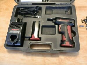 Snap On Cordless Screwdriver Ct5561 W Charger Case Extra Battery Manual W Extras