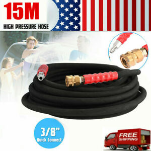 Pressure Washer Parts Hose Pipe 50 4000psi With 3 8 Quick Connects
