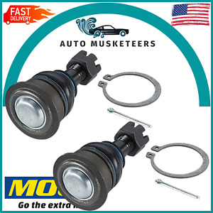 Set Of 2 Front Lower Ball Joints Pair Moog K9820 For Nissan 1994 1998 240sx New