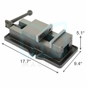 6 bench Clamp Lock Heavy Duty Vise Base Drill Press Milling Machine
