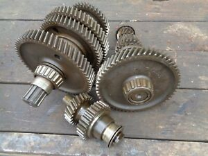 Ford Tractor 600 800 640 840 4 Speed Transmission Top Bottom Shafts W gears