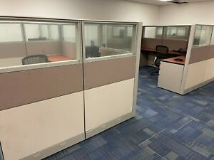 250 Glass Divider Office Cubicles