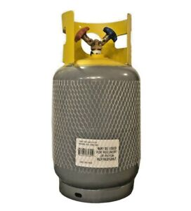 Amtrol Refillable Refrigerant Recovery Transport Steel Cylinder 30 Dual Port