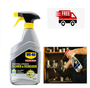 Wd 40 Cleaner Degrease Specialist Safe Industrial strength prevent Rust 24 Oz