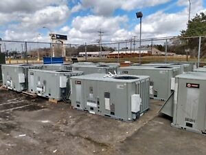 Trane Ysc072e4rlaowgob 7 5 Tons Rooftop Package 3 Phase Gas Unit