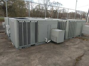Trane 10 Tons Ysc120e4rlbozgob Rooftop Package 3 Phase Gas Unit