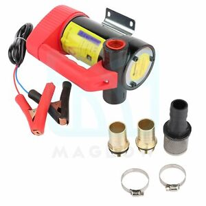 Oil Pump Dc Electric Portable 12v 155w Transfer Pump Extractor Suction Oil Fluid