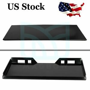 5 16 In Skid Steer Loader Mount Plate Skid Steer Adapter Quick Tach Attachment