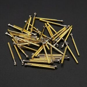 50pcs P75 lm2 Dia 1 02mm Spring Loaded Test Probes Receptacle Pogo Pin