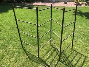 Antique Quilt Rack Clothes Drying Rack Herb Drying Primitive Cottagecore
