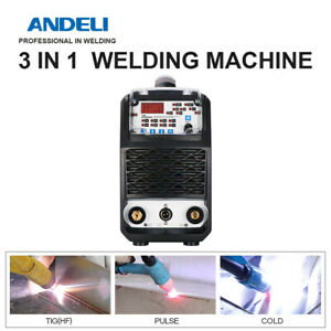 Andeli Tig Welding Machine With Hot cold 110v 220v dc Mos Tube Multifunctional