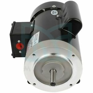 1750 Rpm 1hp Single Phase Air Compressor Electric Motor 230 115 Volt