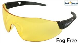 Smith And Wesson 44 Magnum Safety Glasses W Amber Lens Free Shipping