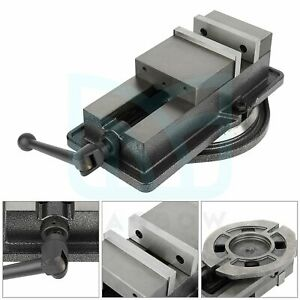5 Inch Bench Clamp Lock Vise Swivel Base Milling Machine Fitter Tools