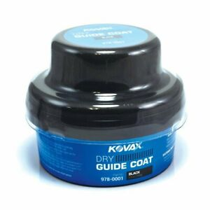 Eagle 978 0001 Kovax Black Dry Guide Coat With Applicator 3 5 Oz