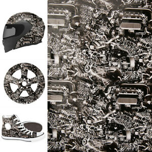 Hydrographic Engine Machine Style Water Transfer Hydro Dipping Dip Print Film Us