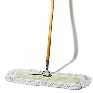 Tidy Tools 24 Inch Cotton Dust Mop 24 X 5 Wide Mop Head With Cut Ends 6