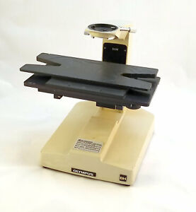 Olympus Bhm Microscope With Wide X y Table Parts Piece