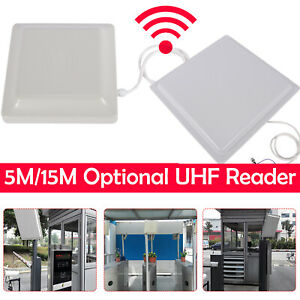 Long Range Uhf Card Reader For Industrial Production Process Control System