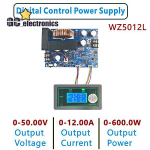 600w 1000w Programmable Cnc Adjustable Step down Power Supply Module Lcd Display