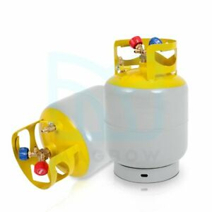 R410a R134a R22 Refrigerant Recovery Tank 30lb 400 Psi With Double Valve