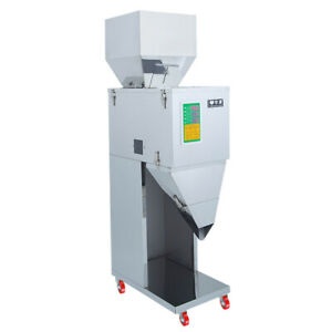 Auto Powder Racking Filling Machine Weigh Filler For Tea Seed Grain 10 999g Us