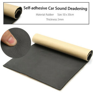 5mm Rubber Cars Sound Proofing Deadening Vehicle Insulation Closed Cell Foam Us