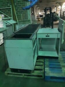 Checkout Counter Store Check Lane Register Stand Electric Belt Used Grocery