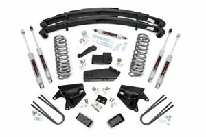 Rough Country 6 Lift Kit Fits 1980 1996 F150 Bronco 4wd N3 Steering