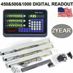 Toauto 3axis Linear Scale 18 20 40 5m Dro Digital Readout Display Cnc Lathe