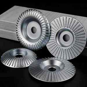 Wood Shaping Disc Set For Angle Grinder Woodworking Grinding Wheel Shaping Dish