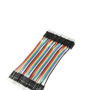 40pcs 10cm Jumper Wire Cable For Arduino Breadboard Prototyping Male To M_shga