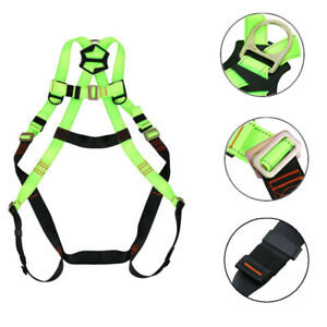 Ridgeyard Fall Protection Safety Harness Lanyard Construction Roofing Combo Tool