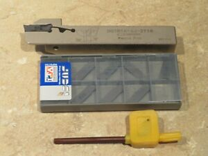 Dgtr 1616 Tool Holder 10 Iscar Carbide Cut Parting Off Inserts Dgn 2002j Ic928