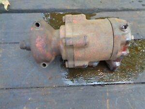 Ford Tractor Jubilee 600 800 Hydraulic Pump Round Piston Style
