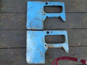 Ford Tractor 801 841 861 Engine Fuel Tank Mount Brackets