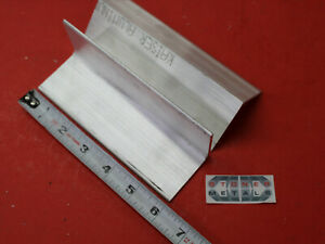 8 Pieces 2 x 2 x 1 8 Aluminum 6061 Angle Bar 6 Long T6 Extruded Mill Stock