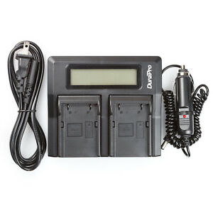 Lcd Dual Rapid Battery Charger For Trimble Eidli1 5700 5800 Tsc1 R7 R8 Gps 38403