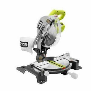 Ryobi 10quot; Compound Miter Saw with Laser Line TS1345L Reconditioned $39.99