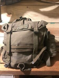 Korean war US Combat backpack with canteen and first aid kit 1951 almost Mint $300.00