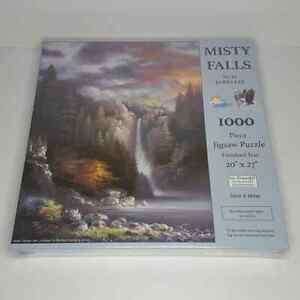 Misty Falls Jigsaw Puzzle SunsOut James Lee 1000 Pc NEW Sealed 18091 20x27 $24.95