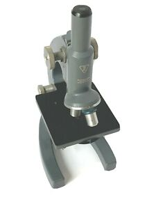 Vintage Bausch Lomb Student Microscope 43x 10x