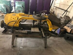 Wf Wells 3 phase Used Metal Band Saw Made In Usa