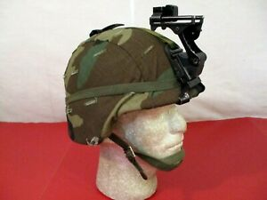 US Army PASGT Ground Troop Helmet made w Kevlar amp; Cover w NVG Bracket X Small #2 $169.99