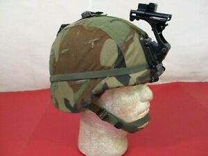 US Army PASGT Ground Troop Helmet made w Kevlar amp; Cover w NVG Bracket X Small #4 $169.99