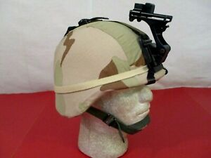 US Army PASGT Ground Troop Helmet made w Kevlar amp; Cover w NVG Bracket X Small #5 $169.99